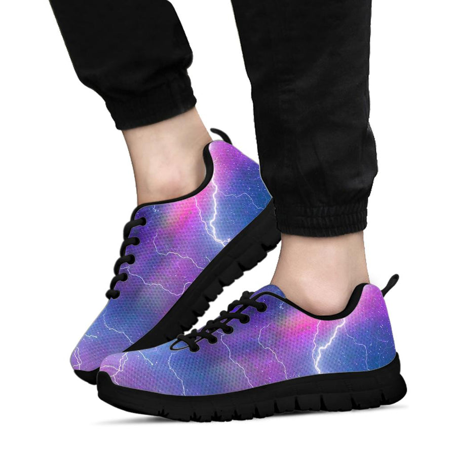 Lightning Aurora  Galaxy Space Sneakers
