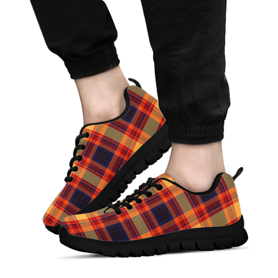 Tartan Brown Plaid Sneakers