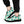 Load image into Gallery viewer, White And Green Polka Dot Sneakers