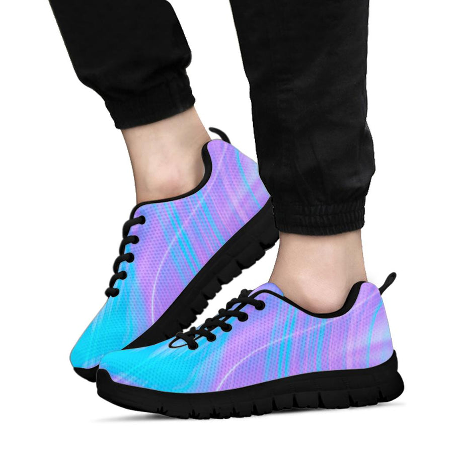 Holographic Print Sneakers
