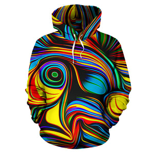 Abstract Wavy Hoodie
