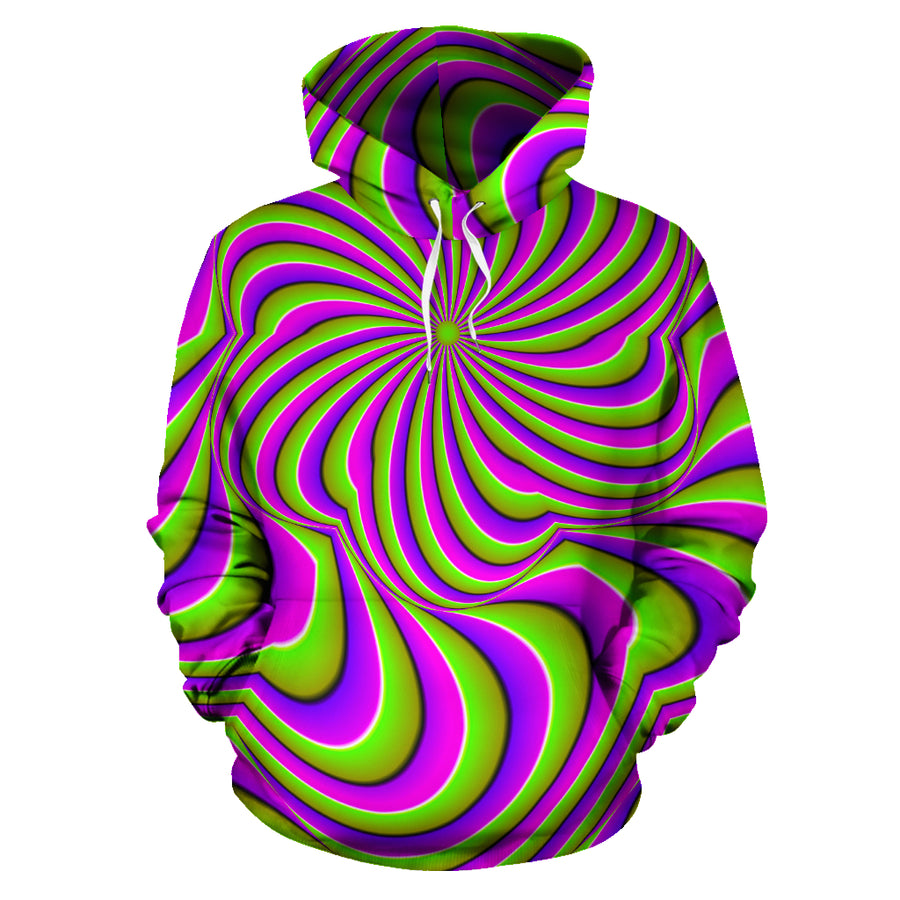 Optical illusion Abstract Hoodie