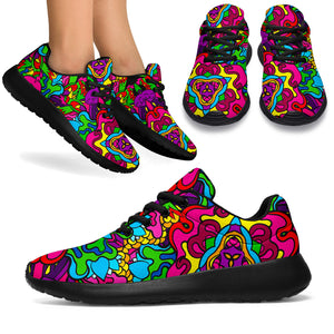 Animal Hippie Psychedelic Running Shoes