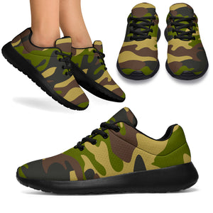 Camo Camouflage Print Running Shoes