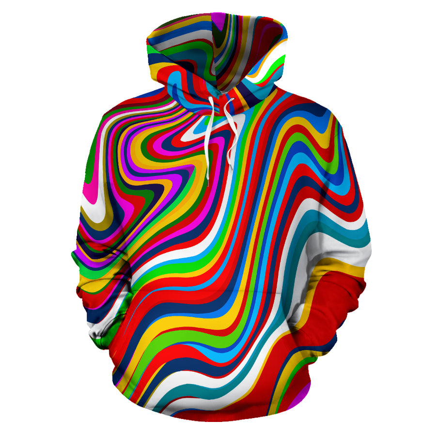 Abstract Ink Paint Hoodie
