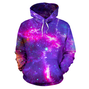 Purple Nebula Galaxy Space Hoodie