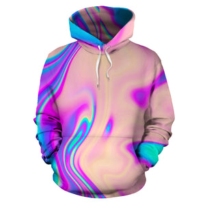 Abstract Trippy Holographic Hoodie