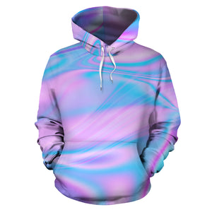 Abstract Holographic Hoodie
