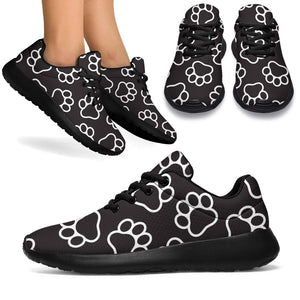 Black Paw Running Shoes