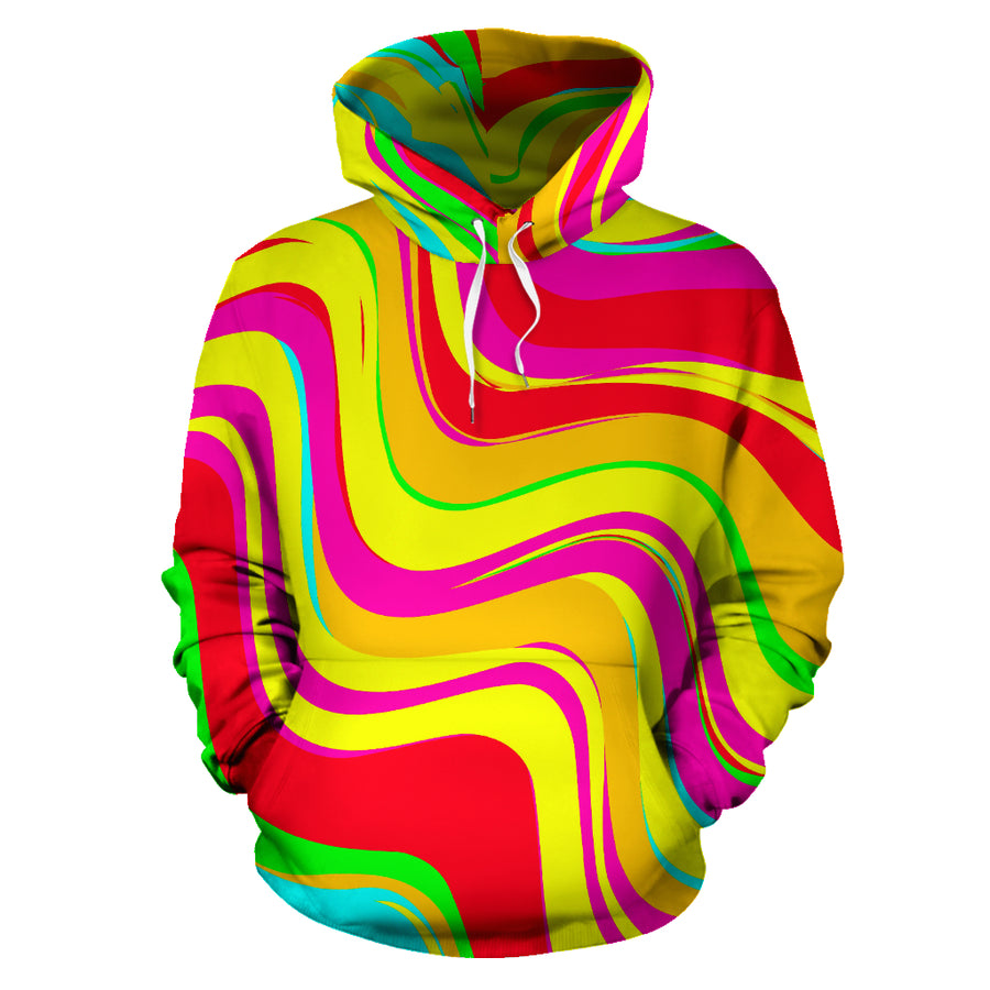 Abstract Paint Hoodie