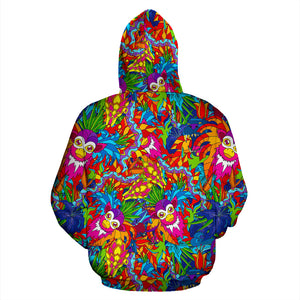 Monkey Trippy Psychedelic Hoodie