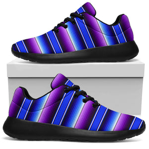 Blue And Purple Mexican Baja Running Shoes