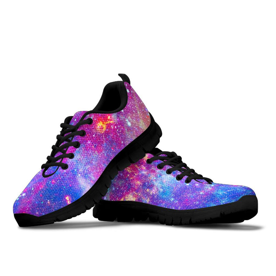 Abstract Starfield Galaxy Space Sneakers