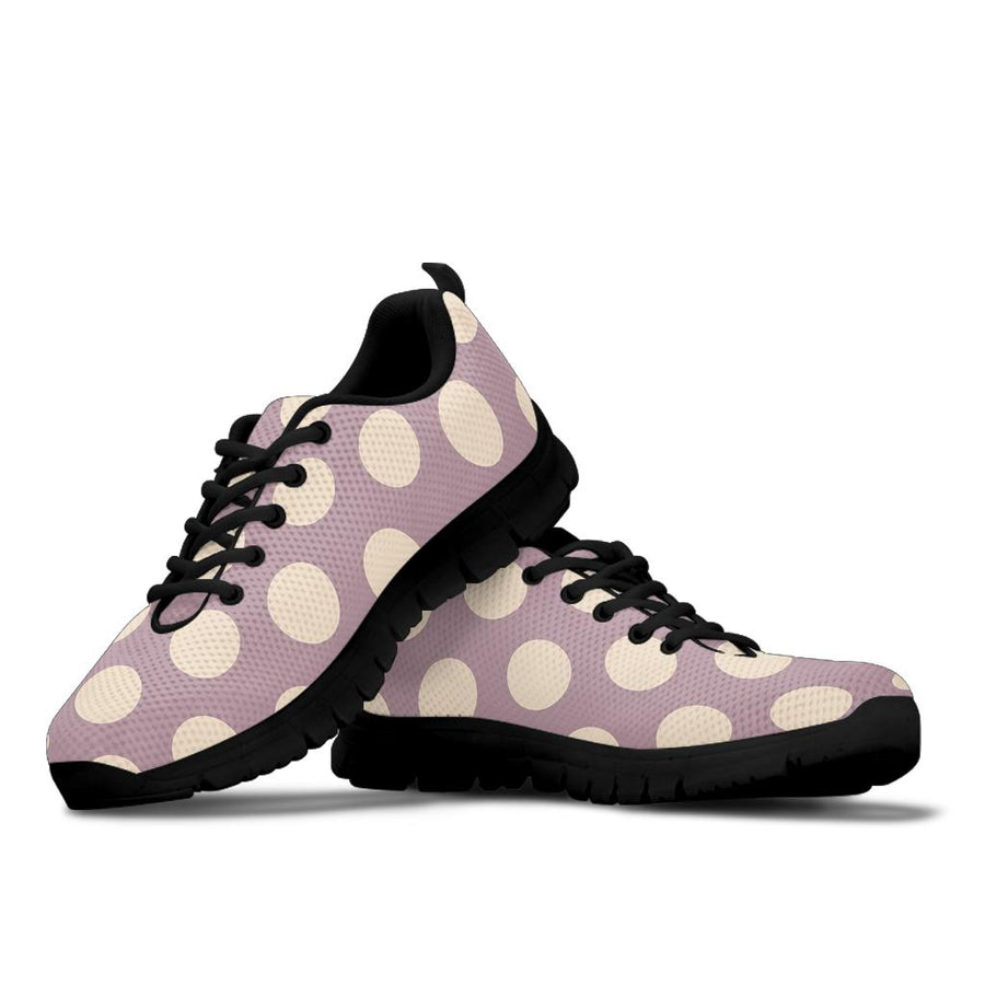 Chocolate Brown Polka Dot Sneakers