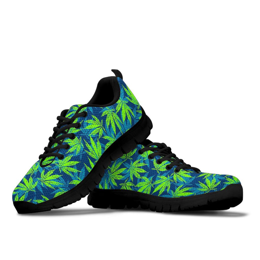 Reggae Leaf Tropical Sneakers