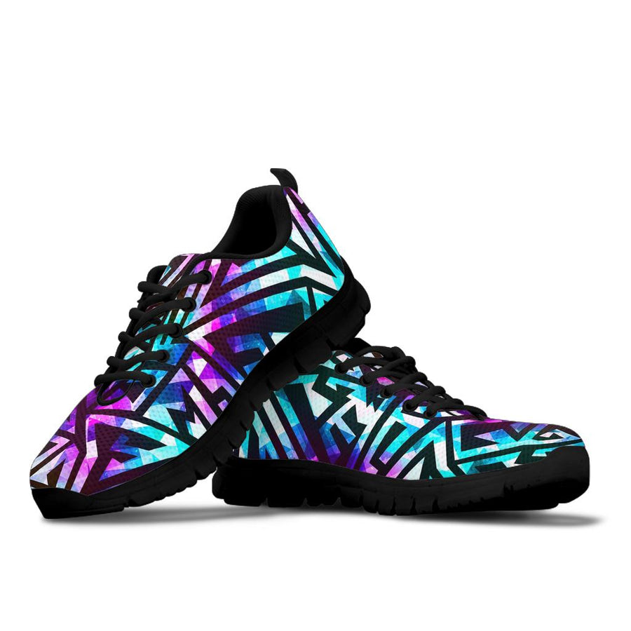 Galaxy Geometric Sneakers