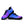 Load image into Gallery viewer, Purple And Blue Tie Dye Sneakers