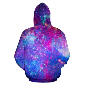 Abstract Starfield Galaxy Space Hoodie
