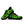 Load image into Gallery viewer, Lime Green Camo Print Sneakers
