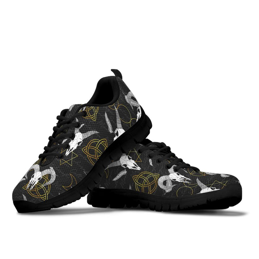 Capricorn Astrology Witch Gothic Sneakers