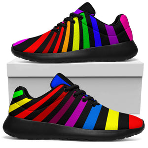 Abstract Colorful Psychedelic Running Shoes