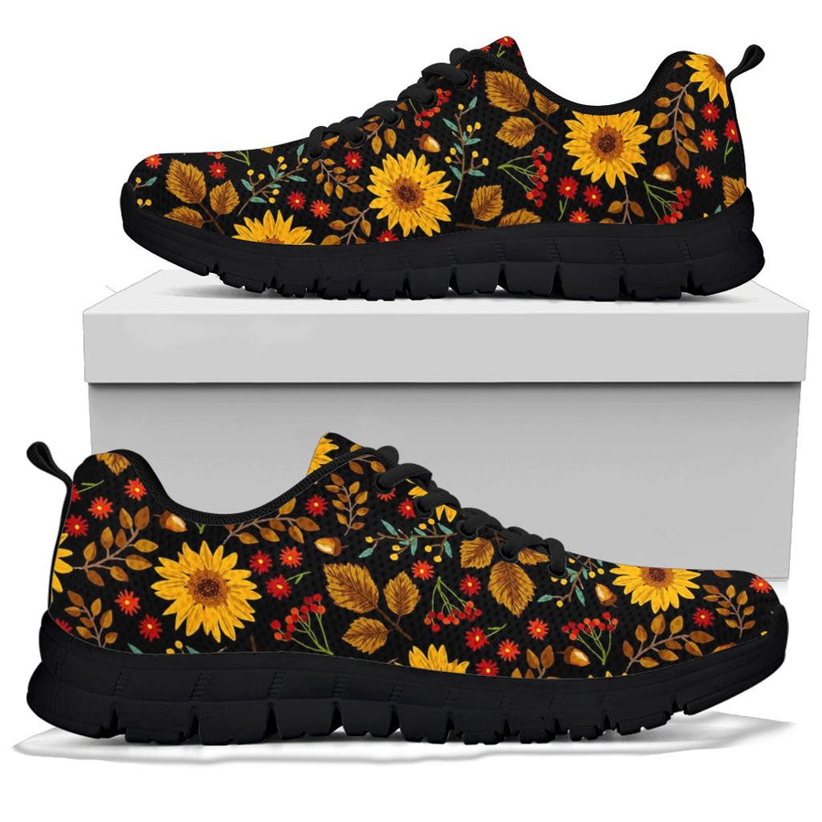 Autumn Sunflower Sneakers