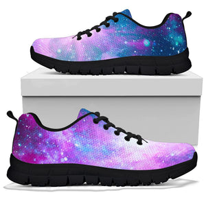 Abstract Galaxy Space Sneakers