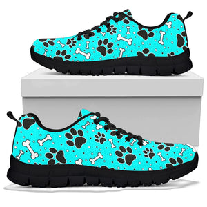 Blue Paw Sneakers