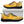 Load image into Gallery viewer, Yellow Hawaiian Pineapple Print Sneakers