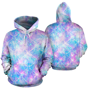 Mermaid Galaxy Space Hoodie