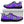 Load image into Gallery viewer, Black Purple Plaid Tartan Sneakers