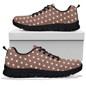 Brown Tiny Polka Dot Sneakers