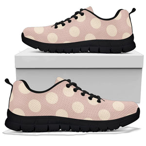 Tan Polka Dot Sneakers