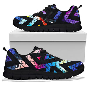 Galaxy Space Triangle Sneakers