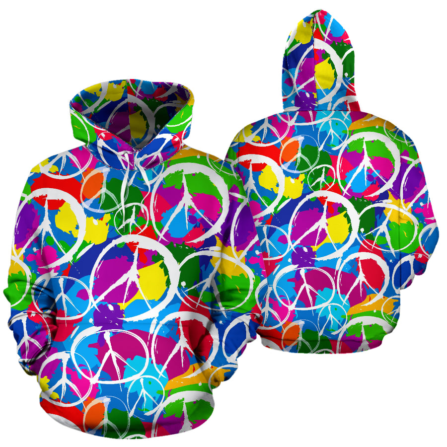 Colorful Hippie Hoodie