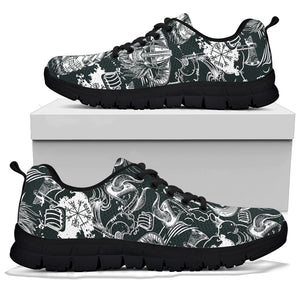 Viking Skull Sneakers