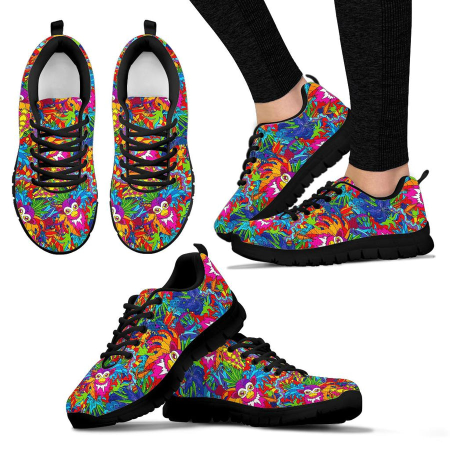Monkey Trippy Psychedelic Sneakers