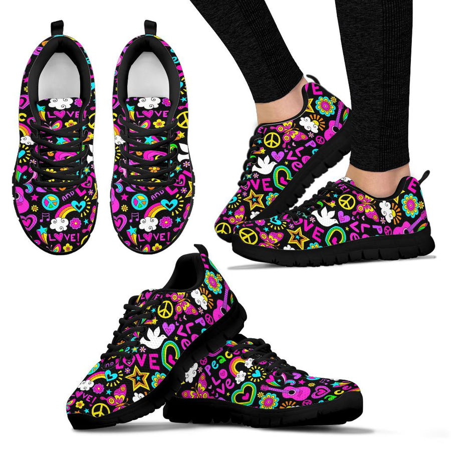 Hippie Retro Sneakers