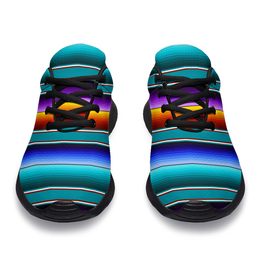 Blue Baja Serape Running Shoes