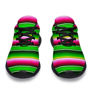 Green Mexican Baja Running Shoes