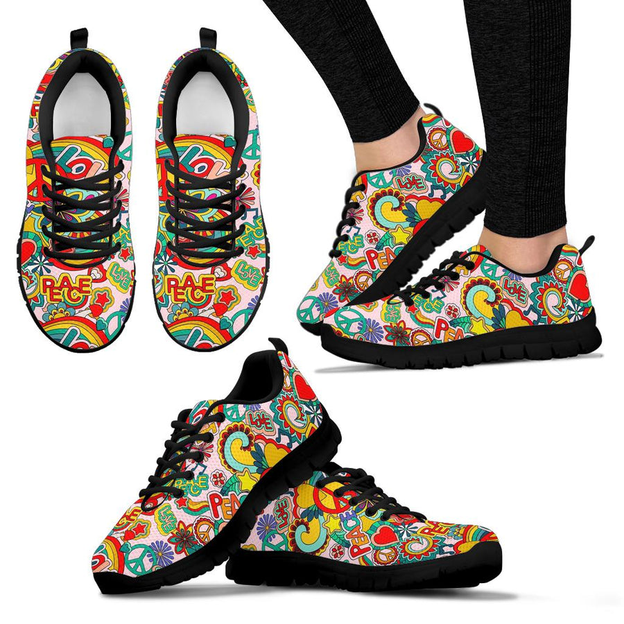 Retro Hippie Sneakers