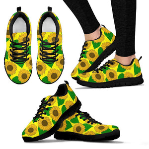Yellow Sunflower Sneakers