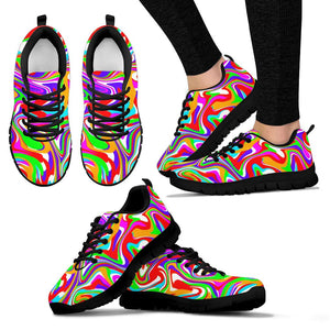 Colorful Abstract Sneakers