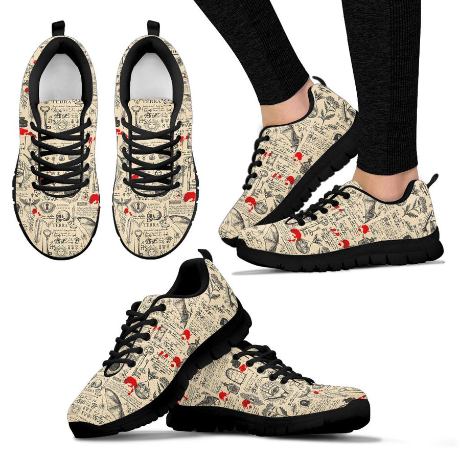 Alchemy Witchcraft Gothic Sneakers