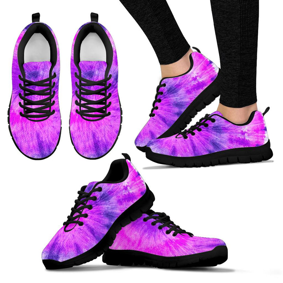 Tie Dye Purple Sneakers