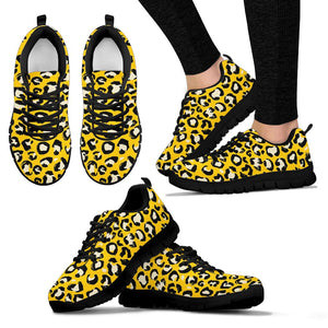 Yellow Leopard Sneakers