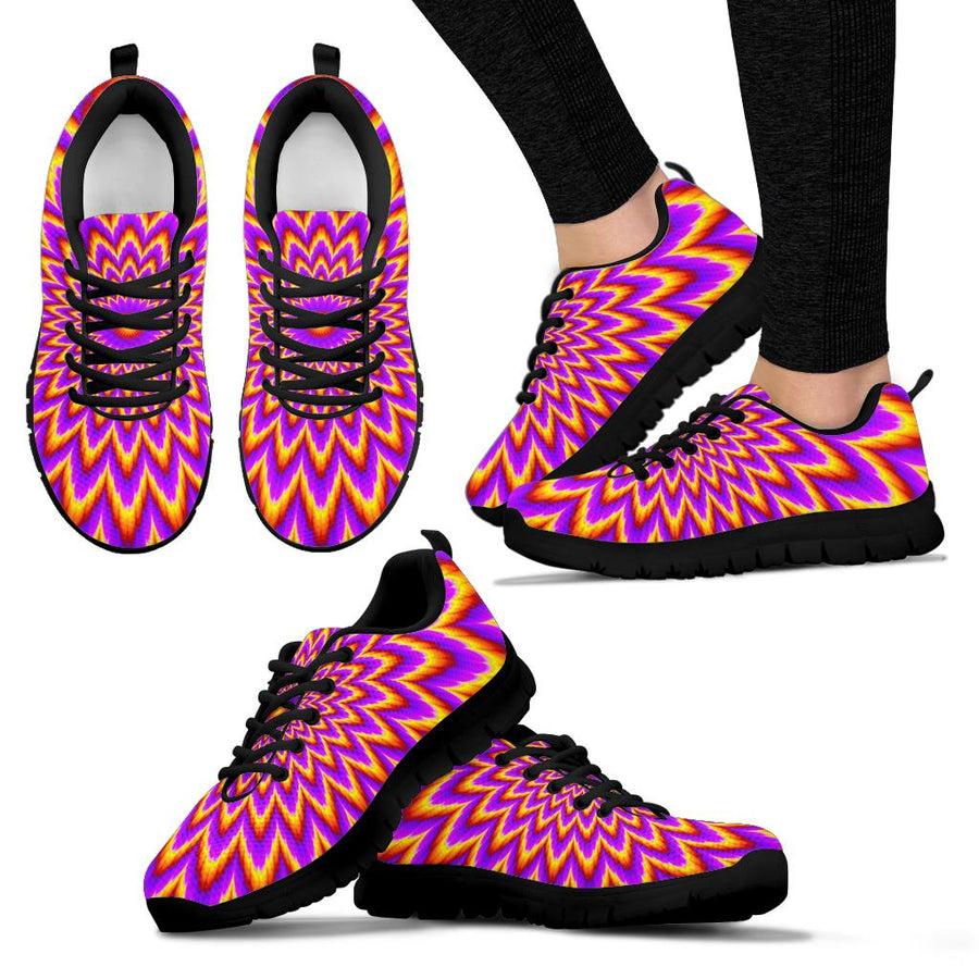 Pulsing Optical illusion Sneakers