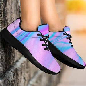 Abstract Holographic Running Shoes