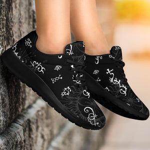 Alchemy Gothic Witch Running Shoes