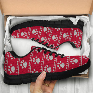 Ugly Christmas Paw Sneakers